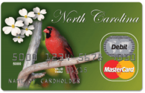 North Carolina Unemployment Card