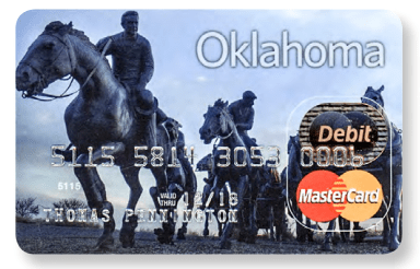 Oklahoma Child Support Card