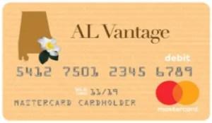 Alabama Way2Go Card - AL Vantage Unemployment Debit Card