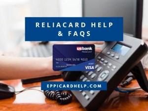 ReliaCard Customer Service Help