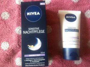 Nivea Sensitiv Nachtpflege