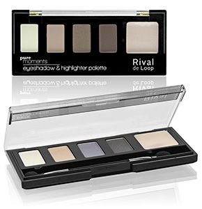 """Rival de Loop """"Pure Moments"""" Eyshadow & Highlighter Palette"""