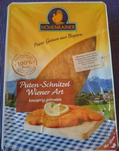 Höhenrainer Puten Schnitzel Wiener Art