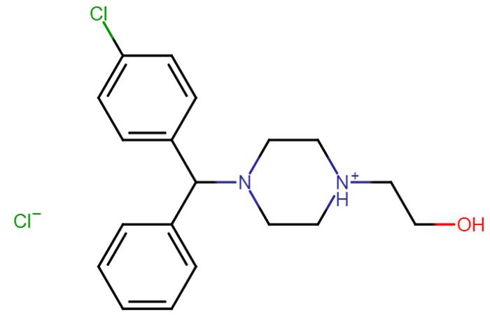2-[4-[(RS)-(4-Chlorophenyl)-phenylmethyl]piperazin-1-yl