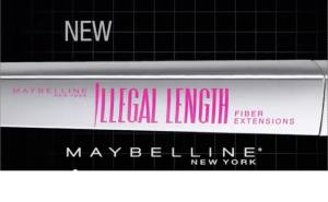 "mascara MAYBELLINE ""ILLEGAL LENGTH"" MASCARA:  DOES IT ADD 4 MILLIMETERS TO YOUR LASHES?"