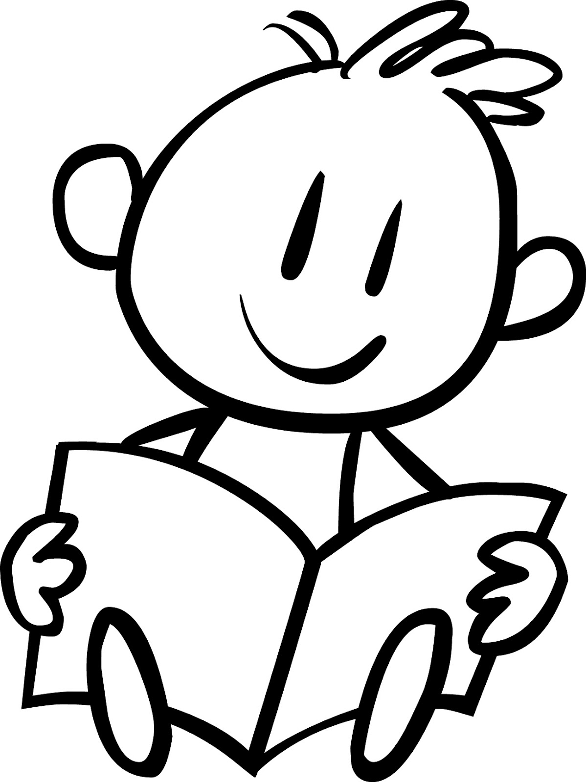Reading Baby Einstein Coloring Pages For Kids Free Printable