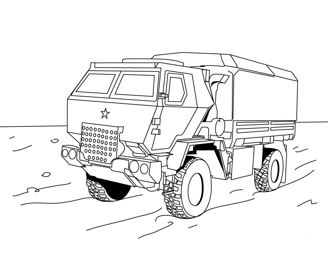 Truck Coloring Pages Color Printing Coloring Sheets 27 Free