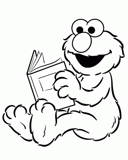 Read Book Elmo coloring pages Free Printable Coloring