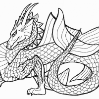 Chinese Dragon Coloring Colouring Photos For Dragon Of Page How To Train Smartphone High Quality Printable