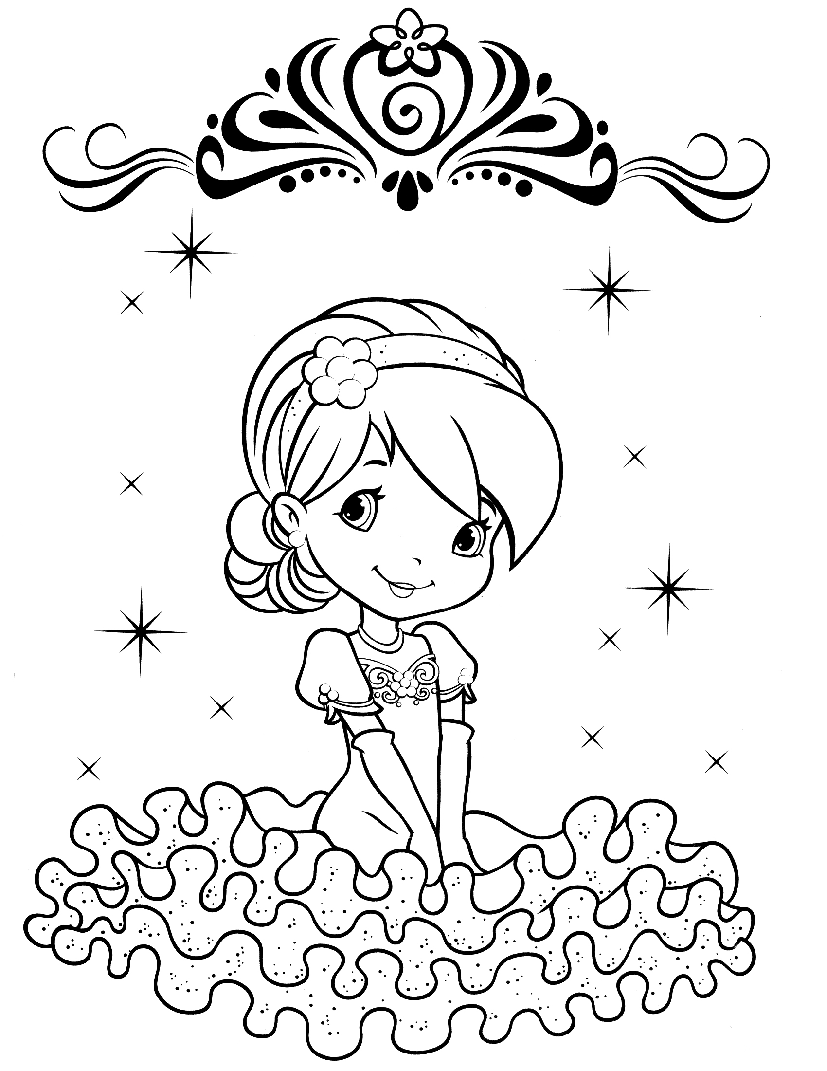 Strawberry Shortcake Coloring Pages Cool Coloring Pages 21