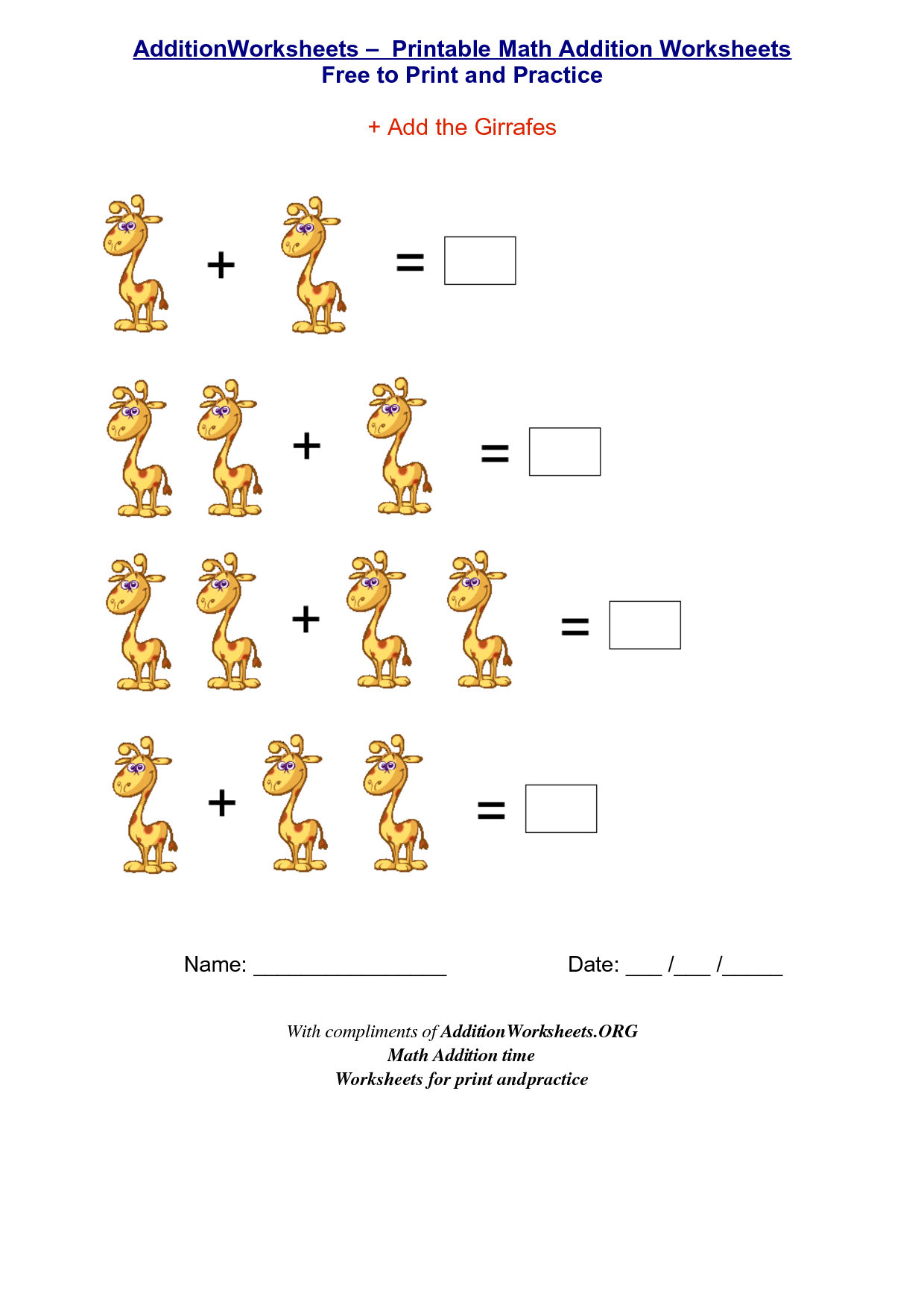 Beach Preschool Worksheet