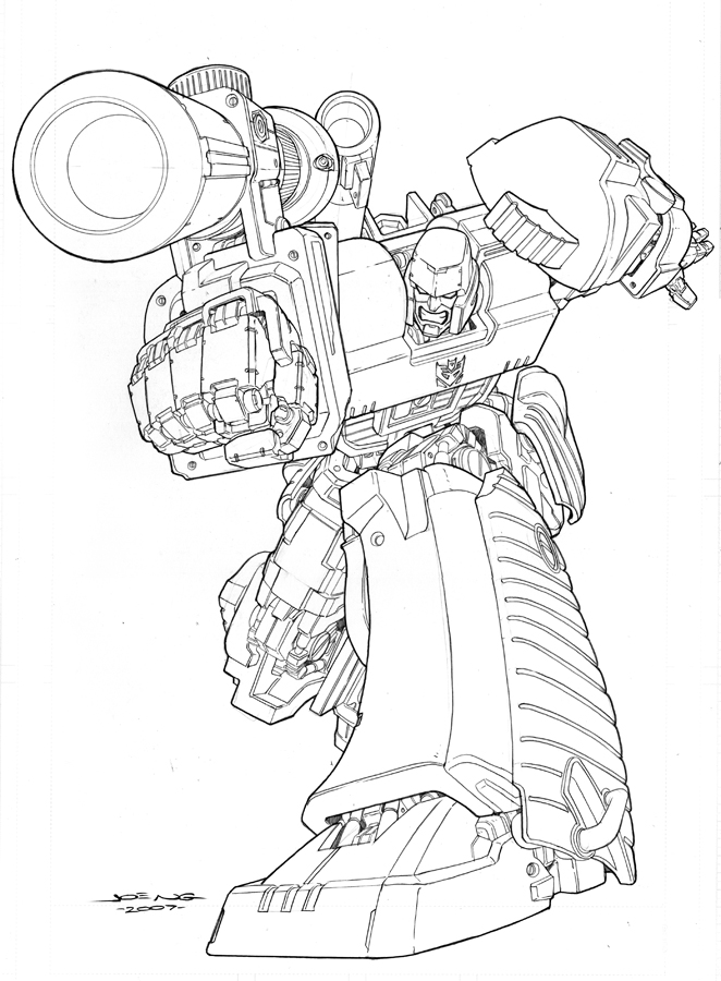 Transformers Coloring Pages Transformer Transformers
