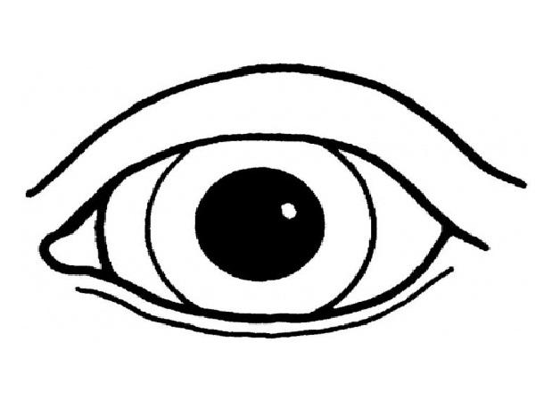 Human Eyes Print Coloring Pages Free Printable Coloring