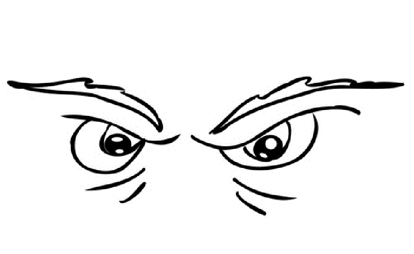 Wicked Eyes Print Coloring Pages Free Printable Coloring
