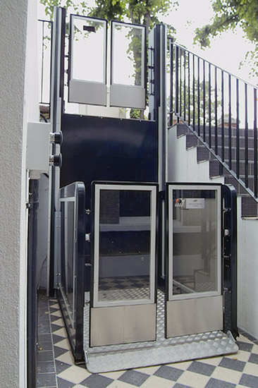 Open Platform Lift  European Platform and Stairlift