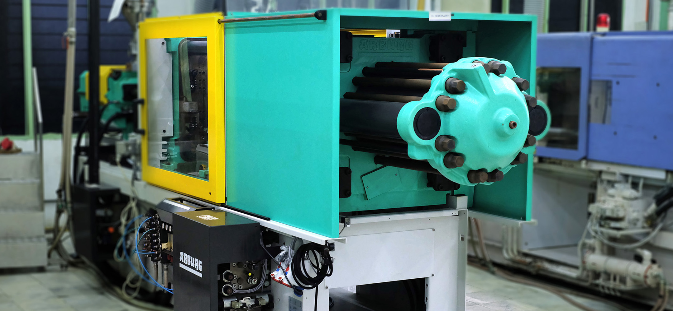 Cutting edge machinery and facilities