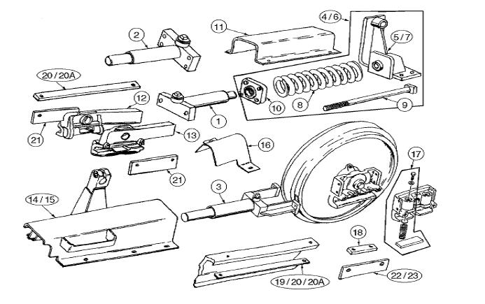 Equipment Parts Source, Aftermarket, Case, Backhoe