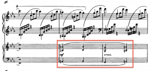 3rd movement, passage-work