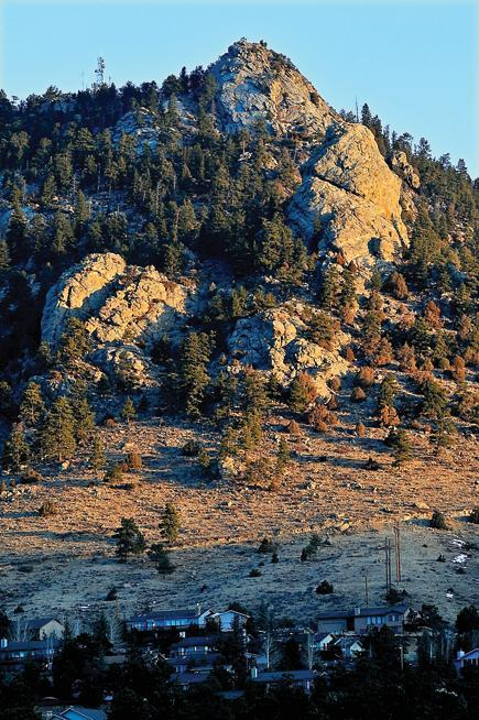 Designed and built by robert heron in 1955, the estes park aerial tramway whisks visitors to the peak of prospect mountain at an elevation of almost 9,000 feet. Town Considering Acquisition Of Prospect Mountain Estes Park Trail Gazette