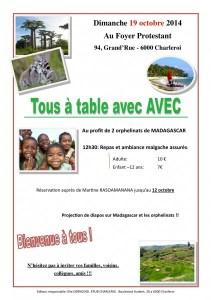 Tous a table avec AVEC