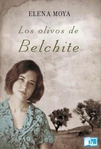 Los olivos de Belchite - Elena Moya portada