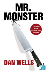 Mr. Monster - Dan Wells  portada