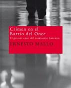 Crimen en el Barrio del Once - Ernesto Mallo portada