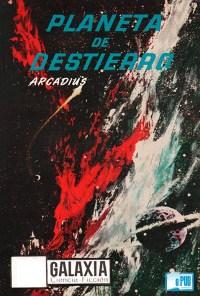 Arcadius y Leigh Brackett Planeta de destierro portada