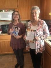 Our wonderful hostesses, Maxine Williams and Virginia Felker