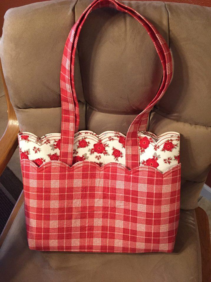 Scalloped Bag