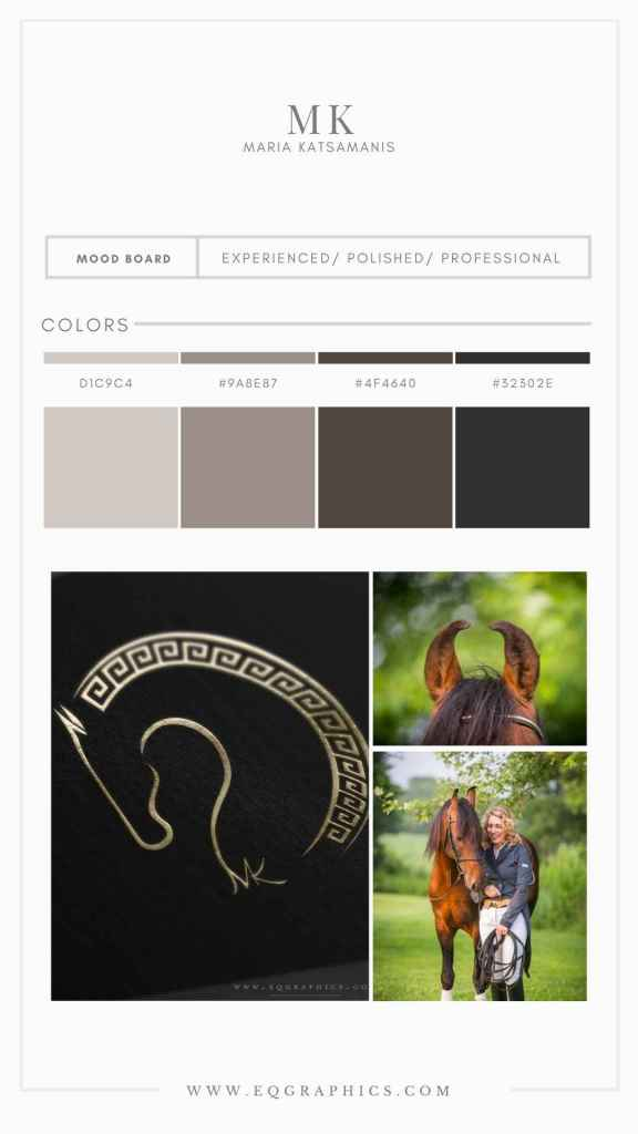 Ancient Greece Meets Rare Horse Breed in This Unique Custom Logo