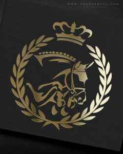 This Show Jumping Logo is Fit for Royalty