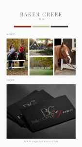 Wow Upscale Clientele With A Custom Logo for Your Equestrian Facility