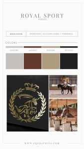 Details Matter In This Realistic Show Jumping Horse Logo