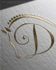 Letter D Converges With Welsh Cob Likeness for Hunter Pony Breeder's Custom Logo