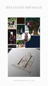 Looking for a Dressage Logo That Depicts Motion? Check Out This Stunning Vector Design