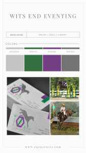 Eventing Horse Logo Sports Multiple Looks for Everything from Brand to Banners