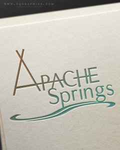 Southwestern Event Center's Tranquil Custom Logo With Native American Design Elements