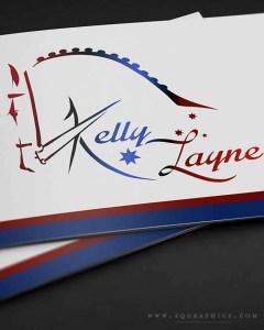 Grand Prix Dressage Rider Kelly Layne's National Flag Inspired Logo Design