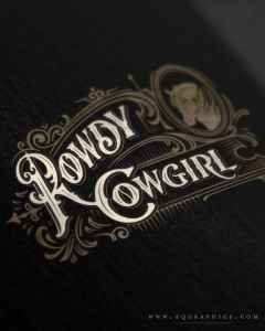 Old West Typeface Adds Character to Western Lifestyle Apparel Brand's Original Logo