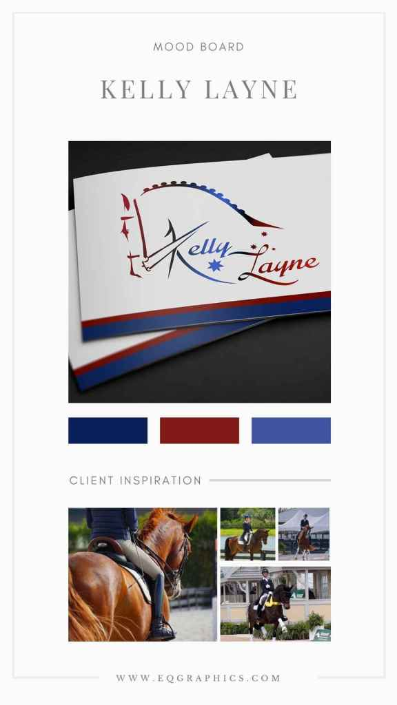 Australian Olympic Logo Design Perfect for Colorful Dressage Horse