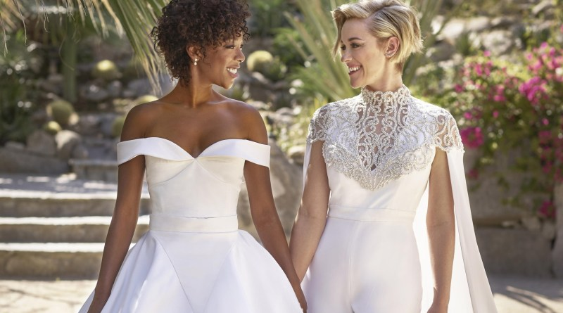 10 Famous Lesbian and Gay Celebrity Couples In Hollywood - Samira Wiley & Lauren Morelli