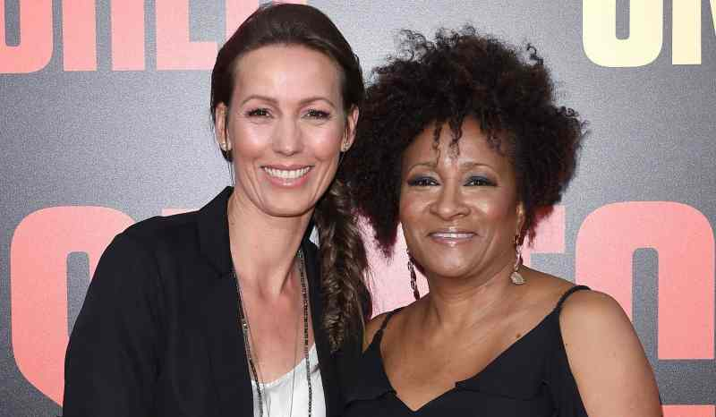 Female Celebrities who Left Their Men for Women - Alex Sykes and Wanda Sykes