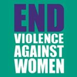 The End Violence Against Women logo.