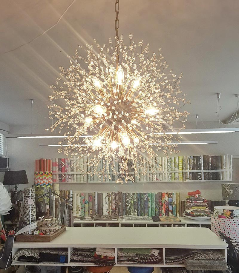 Wall St Designs Chandelier