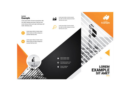 Folded Leaflet Printing Cornwall