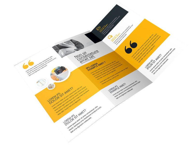 Folded Leaflet Design Southampton