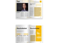 Page Layout Design Advert