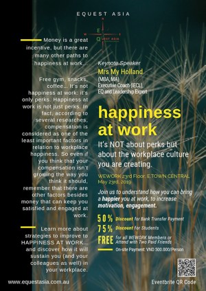 My Perks At Work >> Workshop Happiness At Work Is Not Just About Perks Equest