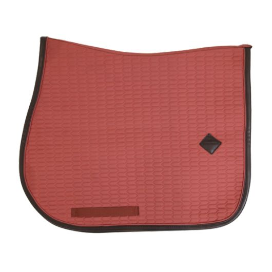 tapis de selle cheval color edition leather kentucky horsewear